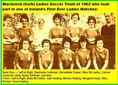 Women's Soccer History In Cork