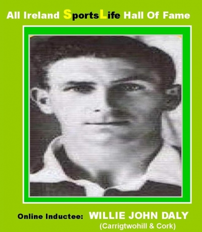 Cork's 1950's Willie John Daly Of Carrigtwohill Fame