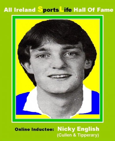 NICKY ENGLISH (Tipperary): All Ireland SportsLife Hall Of Fame Inductee [HURLING AWARD]
