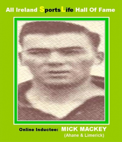 Mick Mackey: Limerick's 1940's Hurling Giant