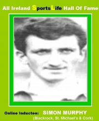 All Ireland HALL of FAME E-ONLINE TRIBUTES Gallery......SIMON MURPHY..Former Cork Hurler & Footballer
