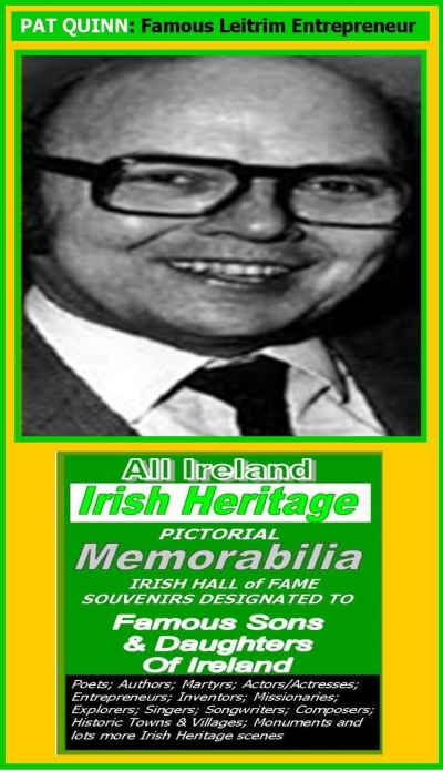 Pat Quinn (Leitrim): Irish Business Hall Of Fame Inductee