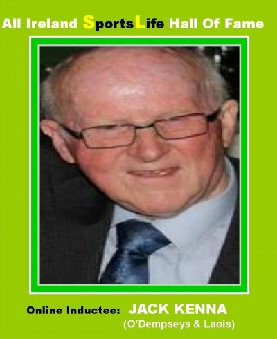 Jack Kenna Of Laois Fame