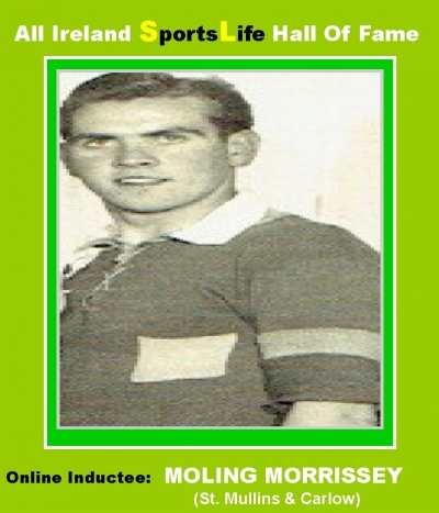 MOLING MORRISSEY: One Of Carlow's Greatest Ever Hurlers