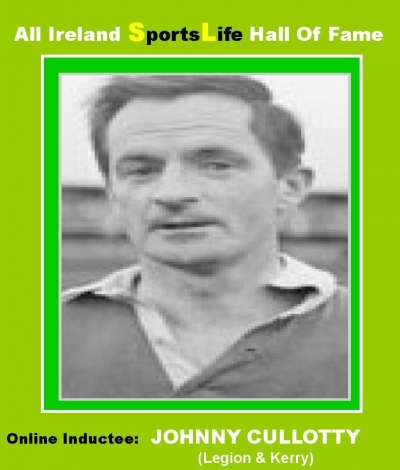 Johnny Cullotty: Kerry's Dual Star Over 3 Decades