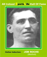 Jem Roche - Wexford Boxer Of Fame