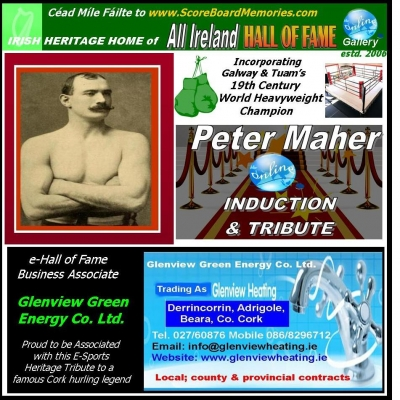 Peter Maher: Tuam, Co. Galway Became Boxing Legend