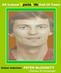 Peter McGinnity Of Fermanagh All Star Fame