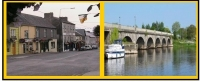 Historic Irish West Midlands Town Of Banagher, Co. Offaly