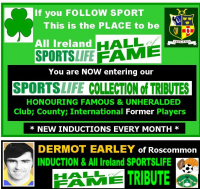 Dermot Earley - One Of The All Time Greats